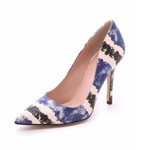 ♠️ Kate Spade Larisa snake print heel